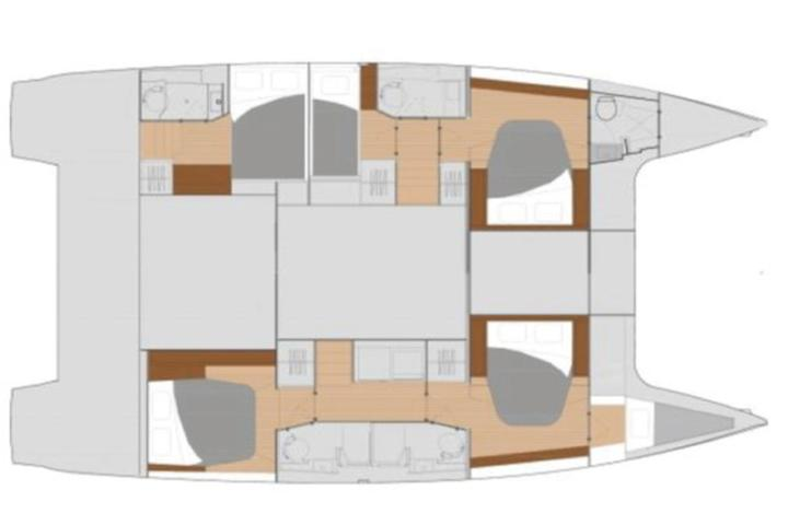 Fountaine Pajot 47 Quintet