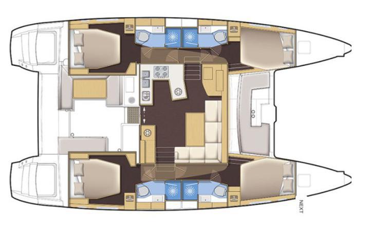Lagoon 450 Luxury