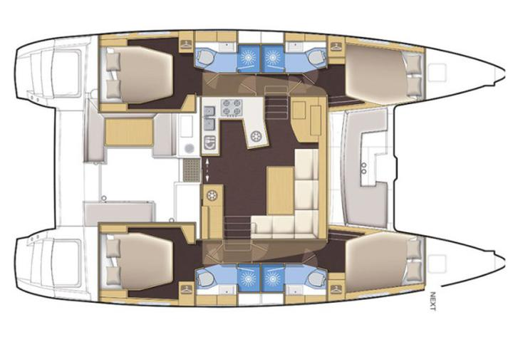 Lagoon 450 Luxury NEW