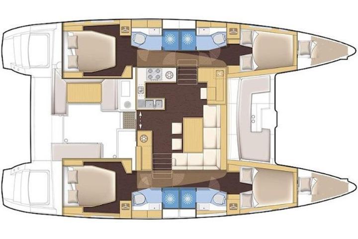 Lagoon 450  Flybridge