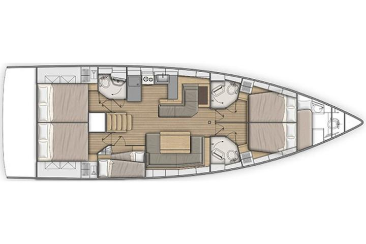 Sunsail Oceanis 51.1